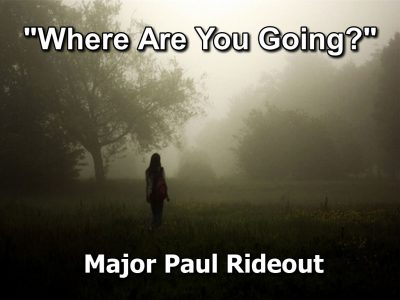 Where Are You Going?