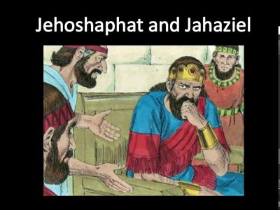 Jehoshaphat and Jahaziel