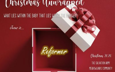 Christmas Unwrapped Jesus is the Reformer