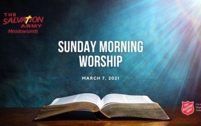 Sunday Morning Worship, March 7, 2021